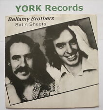 """BELLAMY BROTHERS - Satin Sheets - Ex Con 7"""" Single Warner Brothers K 16775"""