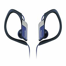 Panasonic RP-HS34E Water/Sweat Resistant In Ear Sports Headphone Earphone Blue