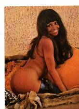 PLAYBOY MAGAZINE PAGE PIN UP SEXY GINA BYRAMS 1970 INTERNATIONAL BUNNY OF YEAR