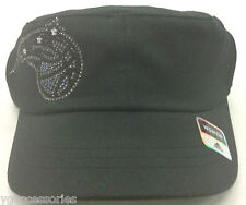 NBA Orlando Magic Adidas Womens Rhinestone Military Velcro-Back Cap Hat NEW!