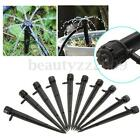 Adjustable Water Flow Irrigation Drippers 360 Degree Emitter Drip Home Garden