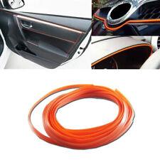 5M Line Car Interior Decor Orange Edge Gap Door Panel Accessories Molding Wire