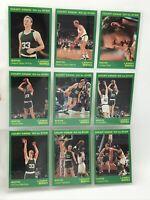 1993 STAR LARRY BIRD COURT KINGS 9 CARD SET BOSTON CELTICS w/COA (750 sets made)