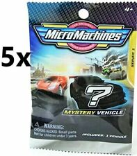 Micro Machines 2020 Mystery Mini 4cm Cars - 5 Bags Supplied