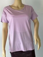 Massimo Dutti PINK- GREY Basic Casual Blouse  Top T-shirt Size Xs-S