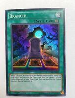 Yugioh - Branch! - Set FUEN-052 - 1st Edition NM - SUPER Rare YUGIOH CARD