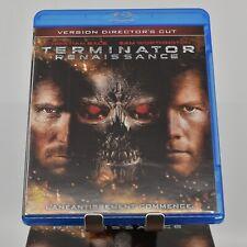 Terminator Renaissance/Salvation (Blu-ray Disc, 2009, Director Cut, Region Free)