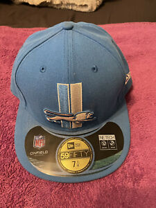 """DETROIT LIONS (OLD LOGO) NEW ERA 59 FIFTY FITTED CAP HAT 7 1/4"""" NFL NFC NEW!!!"""