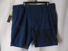 POLO RALPH LAUREN Shorts 40 blue patched stitching distressed button fly NWT
