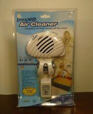 LitterMaid Air Cleaner Cat Litter Box Air Freshen Odor Fan Filter LMAC100 NEW