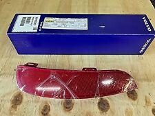 GENUINE VOLVO V50 S40 LEFT REAR RED REFLECTOR IN BUMPER 30763345 2008 >