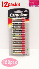 12x Pack of 10pcs Camelion AA Batteries Plus Alkaline 1.5V High Energy Bulk Lot