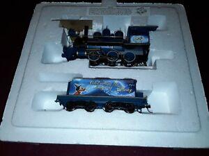 Hawthorne Village Disney 50th Year Anniversary Engine and Tender. (ON5122119)