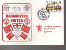 FDC - Manchester United v Widzew Lodz 17.9.1980