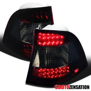 For 1998-2005 Mercedes Benz W163 ML320 ML350 Red/Smoke Tail Lights LED Brake