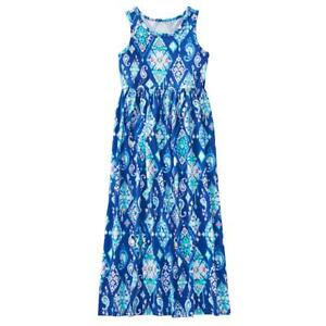 NWT Gymboree True Blue Summer Ikat Maxi Dress Girl toddler and kid sizes