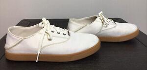 Olukai Mens Off White Kahu Lace Loafers Shoes 7M