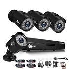 XVIM 5in1 4CH 1080P DVR 1920TVL IR Night Vision Home Security Camera System