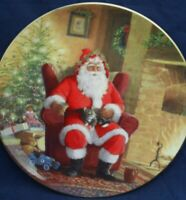 Royal Doulton WELL EARNED BREAK PN193 Christmas collectors plate