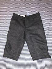 Jacadi Boys Long Gray Shorts 10 Adjustable Waist Dress Up Dressy SELLING TONS!