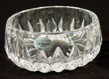 Gorham lead crystal Althea Collection candy dish W. Germany w/box