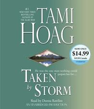 Tami Hoag TAKEN BY STORM Unabridged CD *NEW* FAST 1st Class Ship!