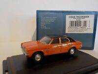 Ford Cortina MkIII - Orange, (Life on Mars) Model Cars, Oxford Diecast