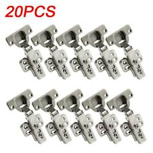 20 X 35MM Soft Close Kitchen Cabinet Cupboard Door Hinge Hinges SCREW PACK