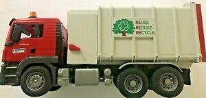 Bruder #03761 MAN TGS Side Loading Garbage Truck -#3761