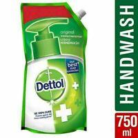 Dettol Original Liquid Hand Wash Refill pH Soap Kills 99.9% Germ