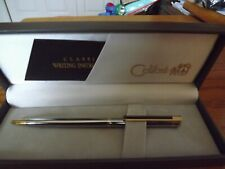 Colibri Classic pen Chrome/Gold/Black-Used-Needs Ink