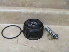Yamaha 600 FJ FJ600 Used Engine Oil Filter Cover & Bolt 1984 Vintage YB71