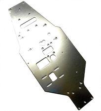 L11308 1/10 Echelle Plaque Supérieure Châssis Argent 319mm Long 130mm Large