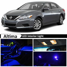 13x Blue LED Lights Interior Package Kit for 2015-2016 Altima
