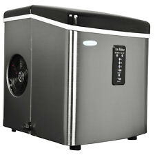 Newair AI-100SS 28-Pound Portable Ice Maker Stainless Steel