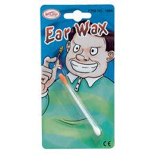 FAKE EAR #WAX APRIL FOOL'S DAY JOKE FANCY DRESS DISGUSTING ACCESSORY