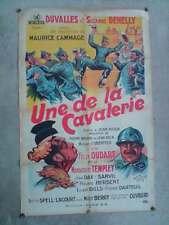 affiche poster UNE DE LA CAVALERIE
