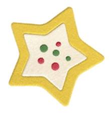 """Quickutz/Lifestyle Crafts DP-0417 """"Sugar Cookie"""" 1 2x2  Die Size 1.8"""" x 1.8"""" NEW"""