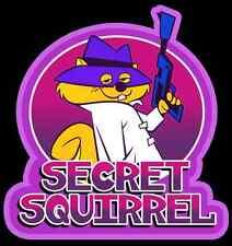 60's Hanna Barbera Classic Secret Squirrel custom tee Any Size Any Color