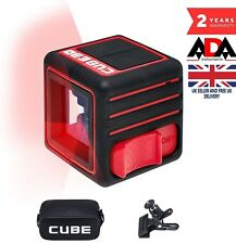 LASER LEVEL Self Leveling Cross Line with CLAMP Mount Handheld ADA CUBE 3D