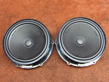 5TA035454 2x Speaker Woofer Door Speaker Front VW Touran II 5T Genuine