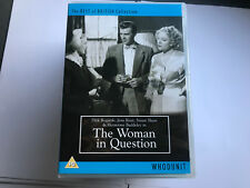 The Woman In Question (DVD, 2010) UNPLAYED MINT/EX 5060082514265 [DVDB7]