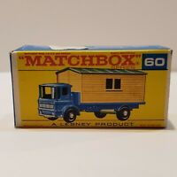 MATCHBOX Lesney Fred Bronner #60 OFFICE SITE TRUCK ORIGINAL Vintage Box NM++!