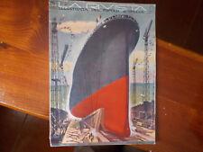 rivista illustrata del popolo d'Italia varo della nave REX 1931 Fellini amarcord