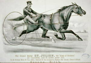 Grand Horse,St. Julien,King of Trotters,Sayre's Harry Clay,Harness Racing, 8615