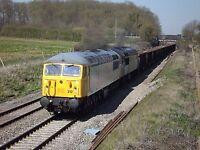 Class 56 56312 & 56302 6x4 Quality British Rail Photo