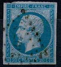 TIMBRE FRANCE Classique Type Napoléon n°14B.b Lilas Oblitéré