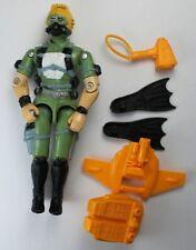 G.I. JOE / 1986 Vintage Action Figure / Hasbro Toys / Wet-Suit SEALS w Most Acc
