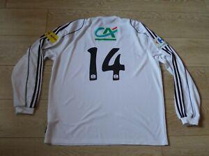 Maillot Football Coupe de France Porté Tn°14 aille Adulte XL Adidas