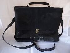 Vintage Leather bag de piel bandolera bandolera funda de cuero auténtico